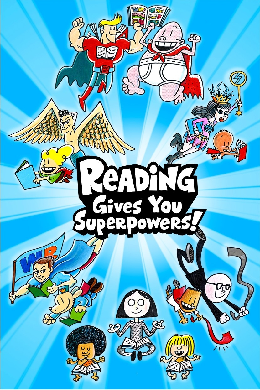 Reading Gives You Superpowers 171 Judy Newman At Scholastic